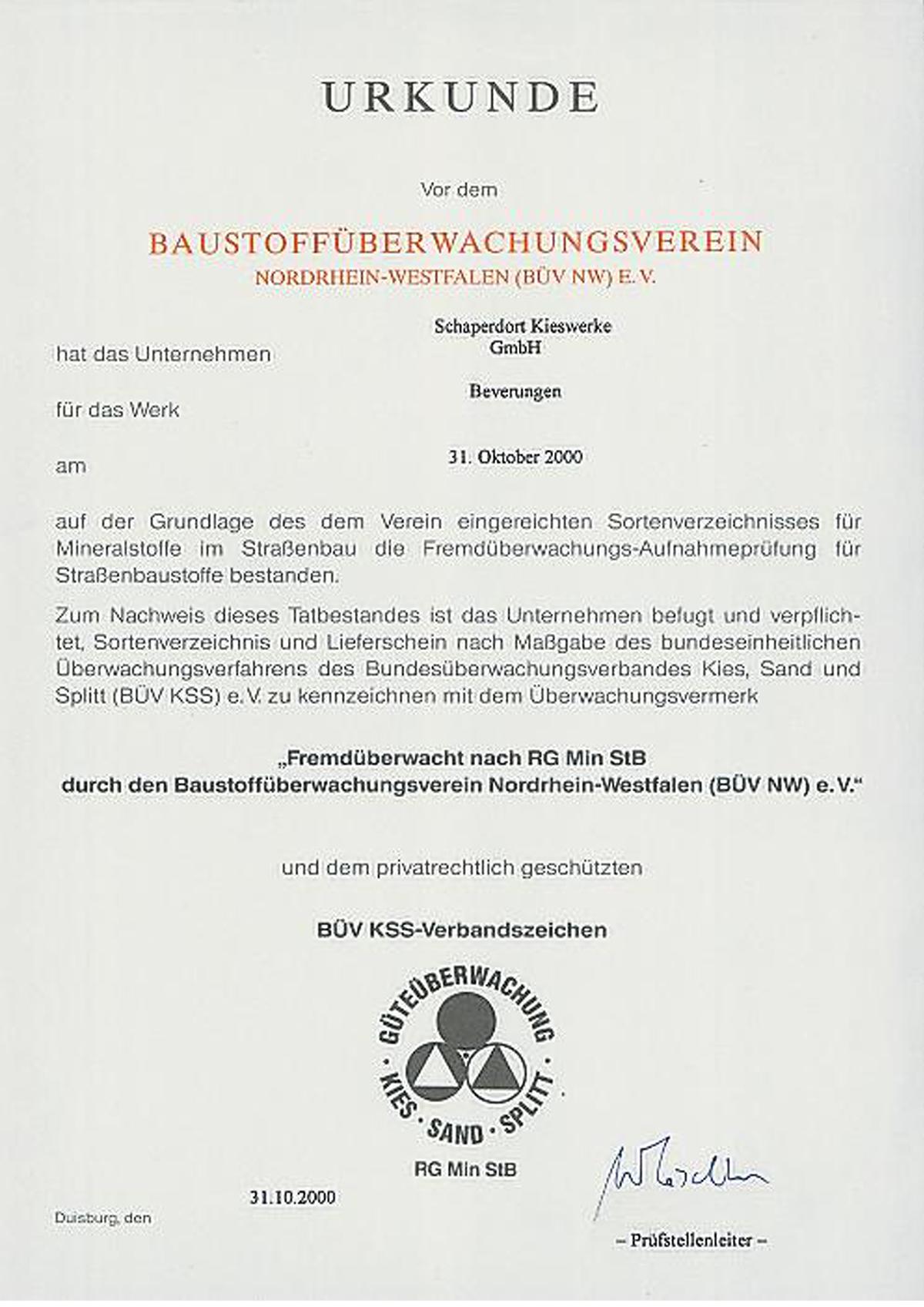 Baustoffüberwachungsverein